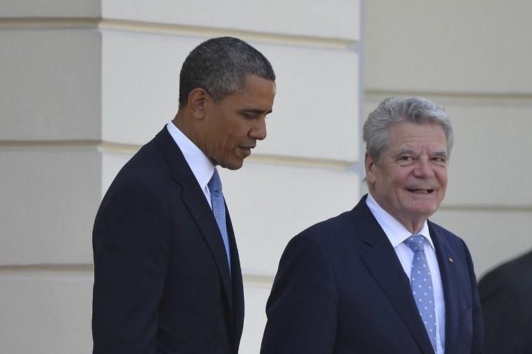Barack Obama i Joachim Gauck /AFP