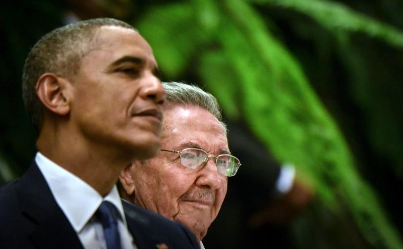 Barack Obama i Raul Castro /AFP