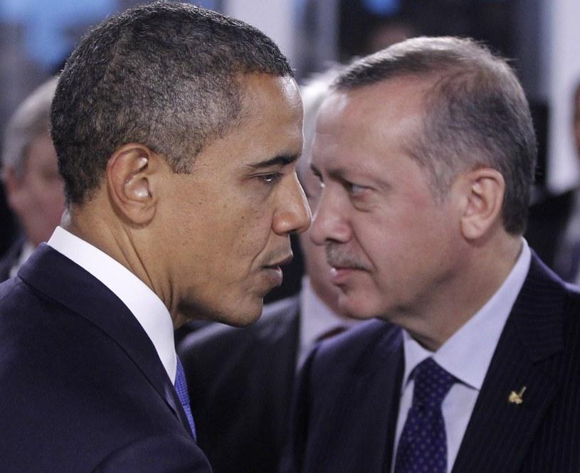 Barack Obama i Recep Erdogan /East News