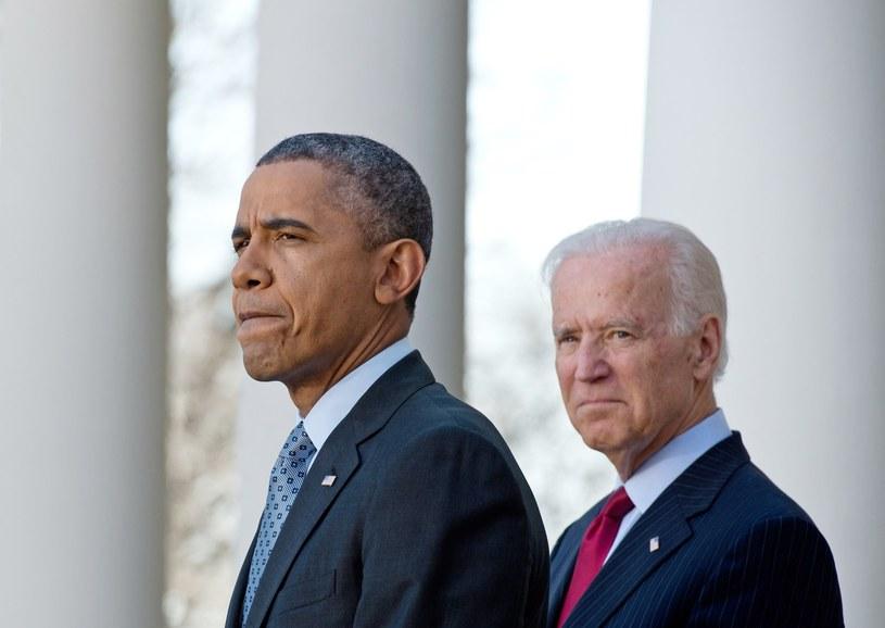 Barack Obama i wiceprezydent USA Joe Biden. /AFP