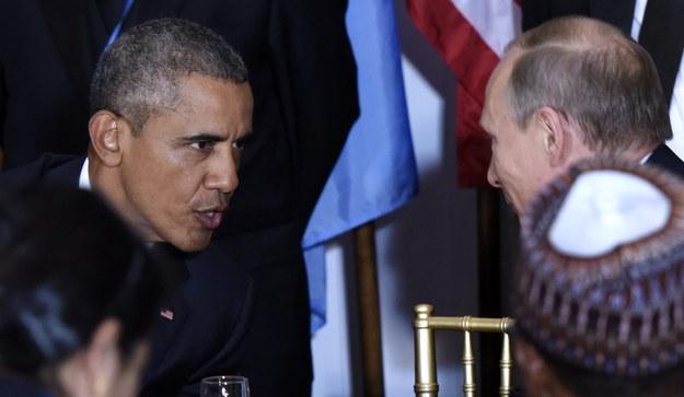 Barack Obama i Władimir Putin /JUSTIN LANE /PAP/EPA