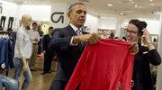 Barack Obama kupił żonie i córkom ubrania