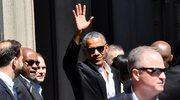 Barack Obama owacyjnie witany w Mediolanie