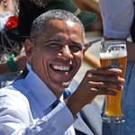 Barack Obama przed szczytem G7 wypił piwo