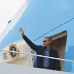 Barack Obama przyleciał do Niemiec