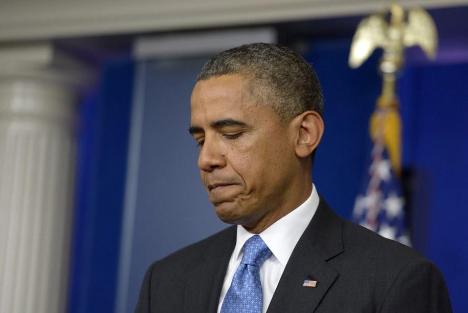 Barack Obama skomentował głośną sprawę Georga Zimmermana /SHAWN THEW    /PAP/EPA