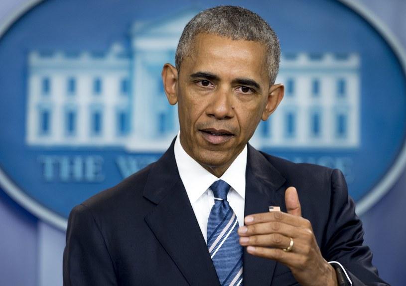 Barack Obama spotkanie się z Andrzejem Dudą w piątek przed szczytem NATO w Warszawie /SAUL LOEB / AFP /AFP