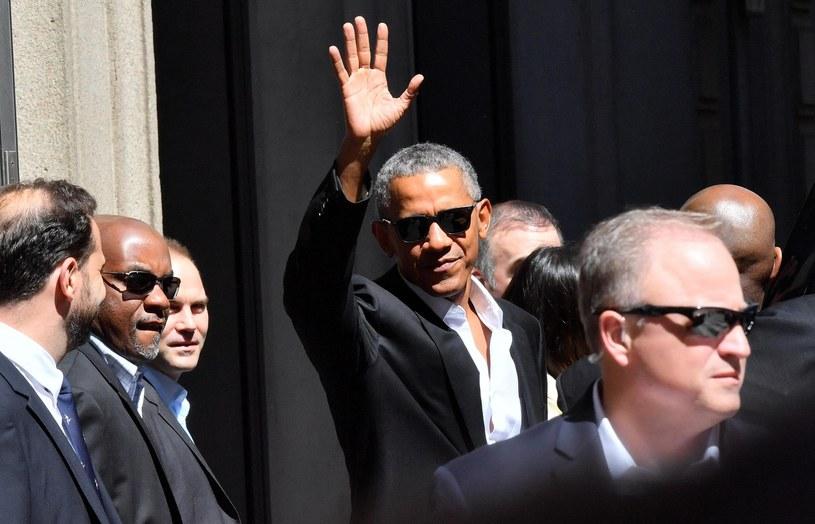 Barack Obama w Mediolanie /PAP/EPA