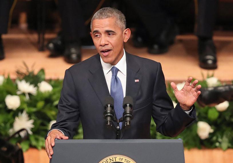 """Barack Obama: """"W Stanach Zjednoczonych nie ma wojny rasowej"""" /AFP"""
