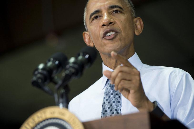 """Barack Obama: """"W Syrii nie widzę scenariusza, w którym moglibyśmy położyć kres tamtejszej wojnie domowej bez udziału znacznych wojsk"""" /AFP"""