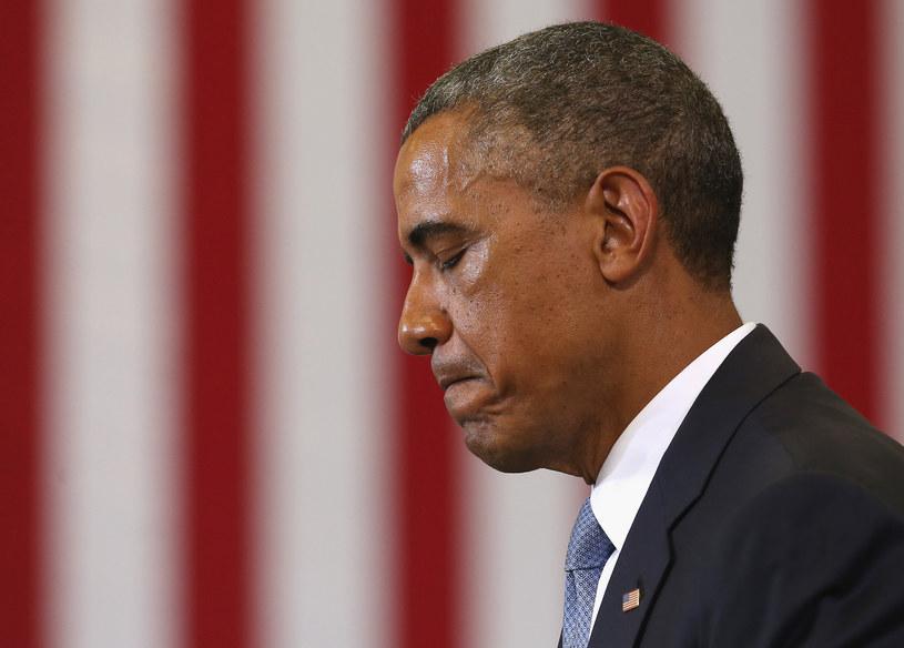 Barack Obama w szpitalu. Przez ból gardła /AFP
