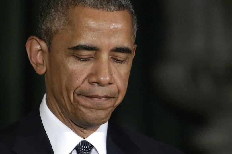 """Barack Obama: """"W żadnym innym rozwiniętym kraju na świecie nie ma tylu morderstw"""" /AFP"""