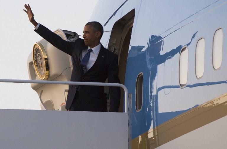 Barack Obama wyruszył do Kenii /SAUL LOEB / AFP /AFP