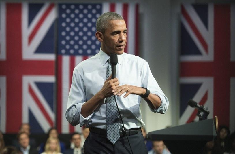 Barack Obama z wizytą w Wielkiej Brytanii /EPA/WILL OLIVER /PAP/EPA