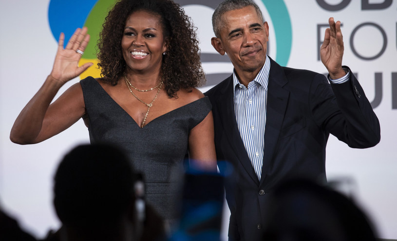 Barack Obama z żoną Michelle /Chicago Sun-TimesAssociated PressEast News /East News