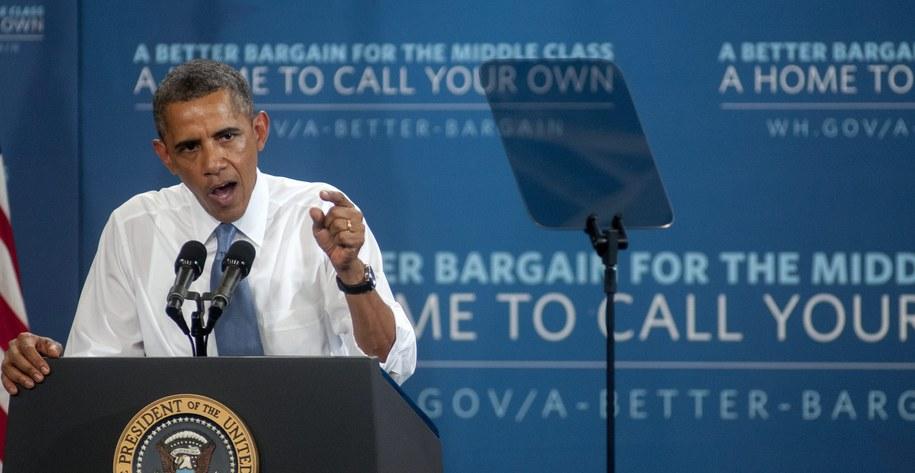 Barack Obama zapowiedział, że nie pojedzie do Rosji /RICK D'ELIA /PAP/EPA