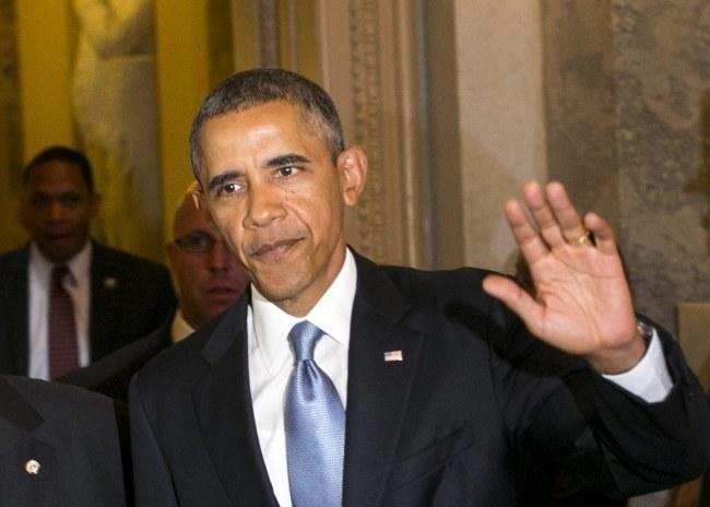 Barack Obama /KRISTOFFER TRIPPLAA /PAP/EPA