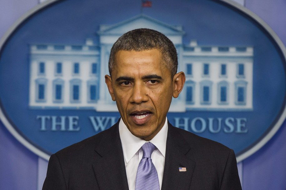 Barack Obama /JIM LO SCALZO /PAP/EPA