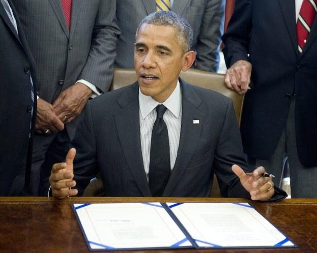 Barack Obama /PAP/EPA/Ron Sachs / POOL /PAP/EPA