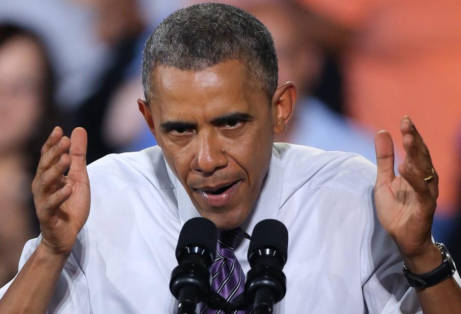 Barack Obama /Ed Zurga /PAP/EPA