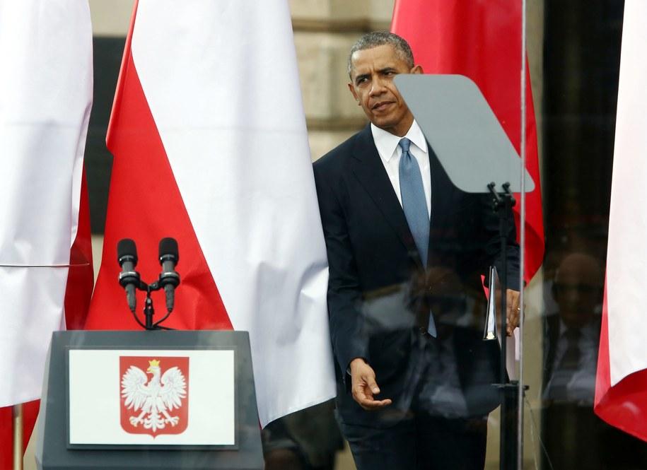 Barack Obama /Tomasz Gzell /PAP