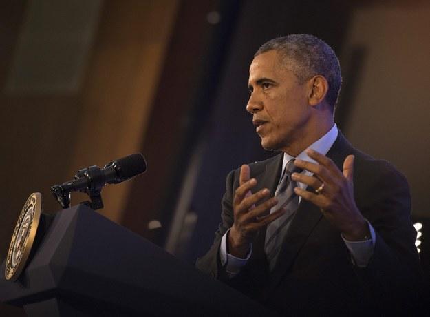 Barack Obama /MOLLY RILEY/POOL /PAP/EPA