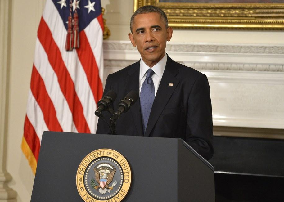 Barack Obama /MIKE THEILER / POOL /PAP/EPA