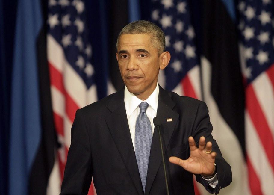 Barack Obama /VALDA KALNINA /PAP/EPA