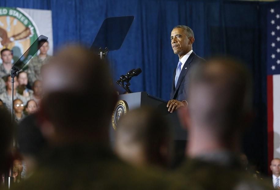 Barack Obama /BRIAN BLANCO  /PAP/EPA