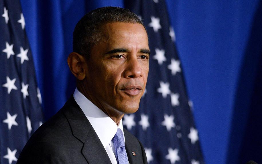 Barack Obama /PAP/DPA/Olivier Douliery    /PAP/EPA