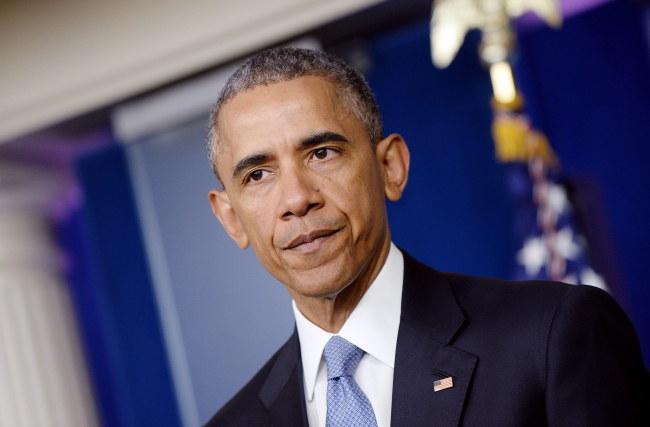 Barack Obama /PAP/EPA/Olivier Douliery / POOL /PAP/EPA