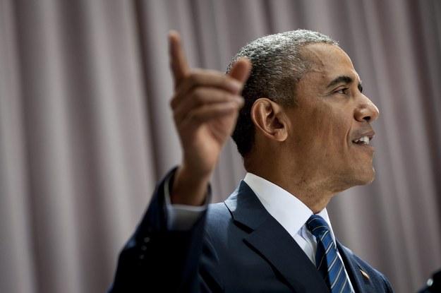 Barack Obama /PETE MAROVICH / POOL    /PAP/EPA