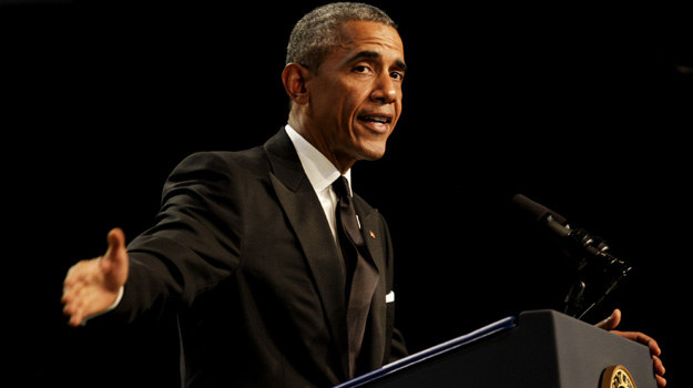 Barack Obama /Pool /Getty Images
