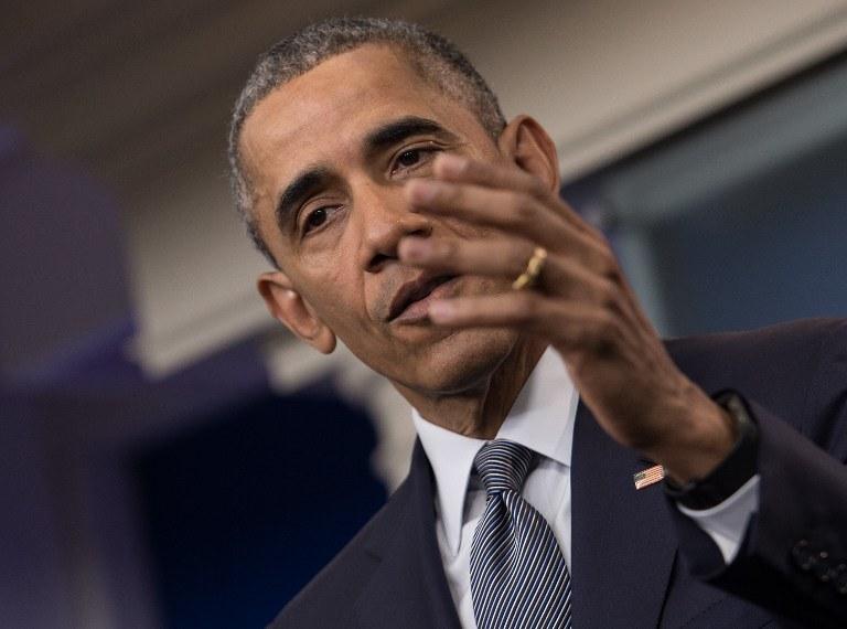 Barack Obama /NICHOLAS KAMM / AFP /AFP