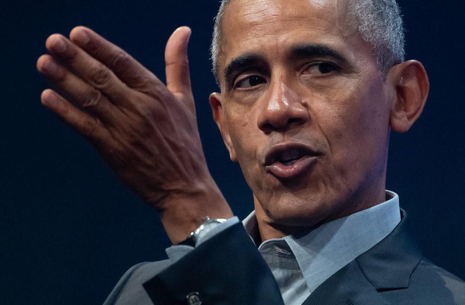 Barack Obama /\Sven Hoppe /PAP/EPA