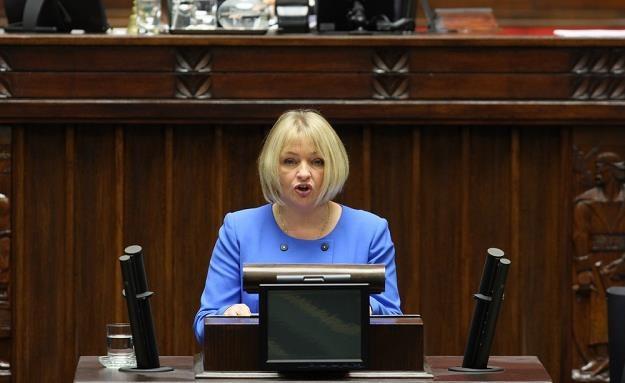 Barbara Bartuś, posłanka PiS. Fot. STANISŁAW KOWALCZUK /Agencja SE/East News