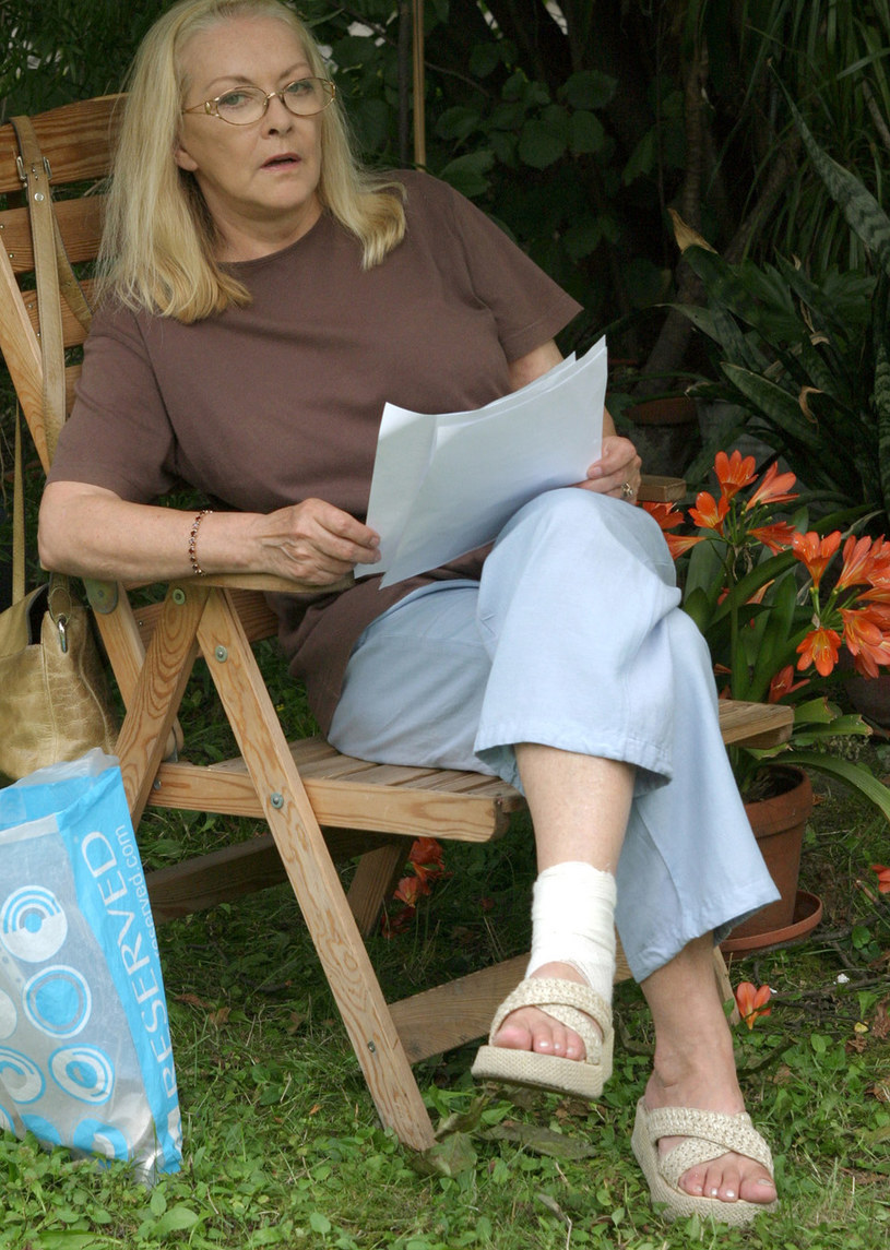 Barbara Brylska, 2005 rok /Kaszuba /AKPA