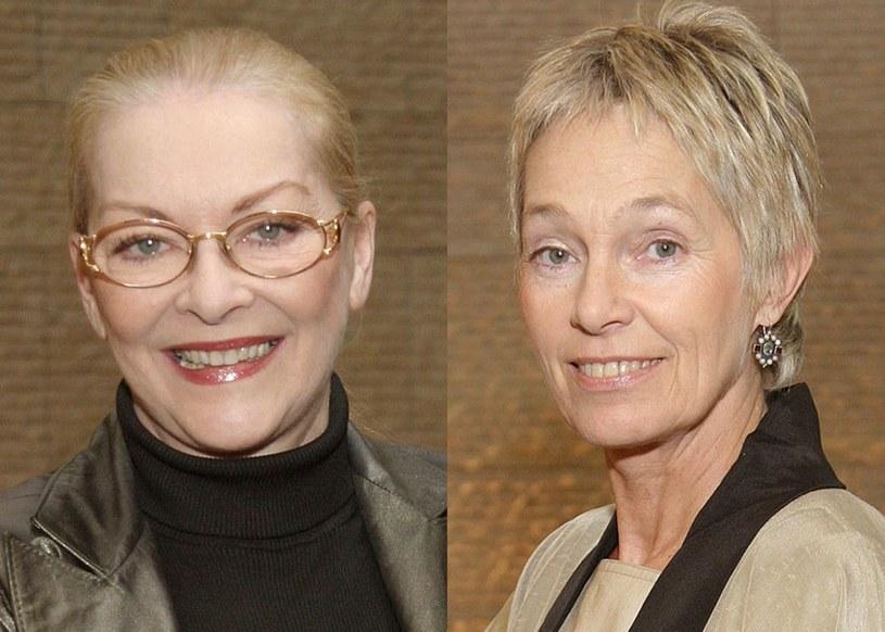 Barbara Brylska i Małgorzata Braunek /AIM