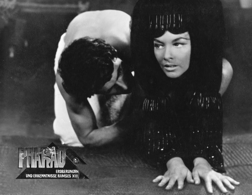 "Barbara Brylska na planie ""Faraona"" /United Archives/IFTN    /East News"