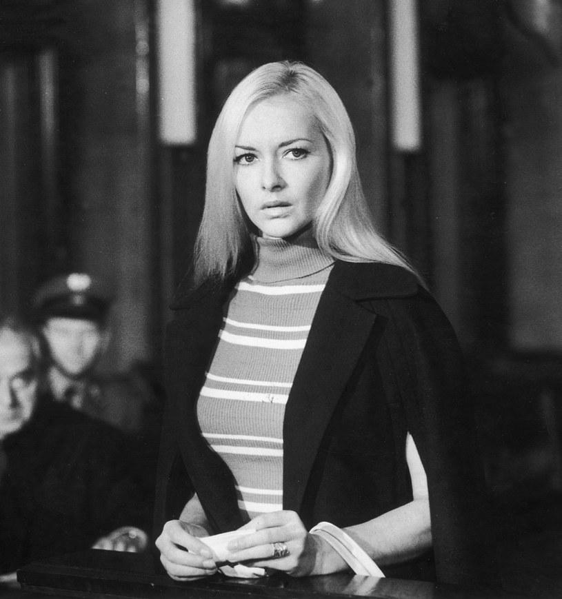 """Barbara Brylska w filmie """"Zbrodniarz, który ukradł zbrodnię"""" /AKPA"""
