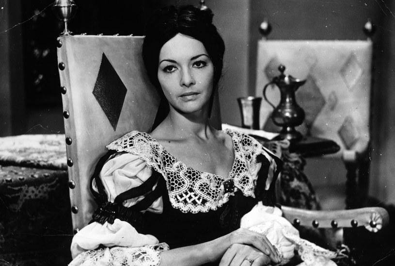 """Barbara Brylska w serialu """"Przygody pana Michala"""" (1969) /archiwum /Agencja FORUM"""