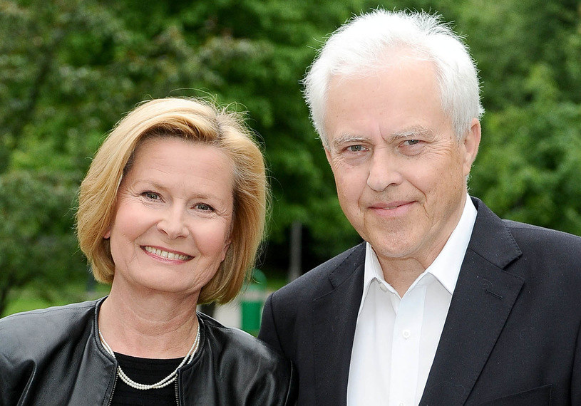Barbara Bursztynowicz i Jacek Bursztynowicz /AIM