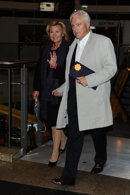 Barbara Bursztynowicz z mężem /Piotr Andrzejczak /MWMedia