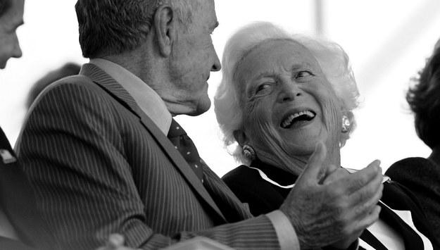 Barbara Bush zmarła w wieku 92 lat. /MATTHEW CAVANAUGH /PAP/EPA