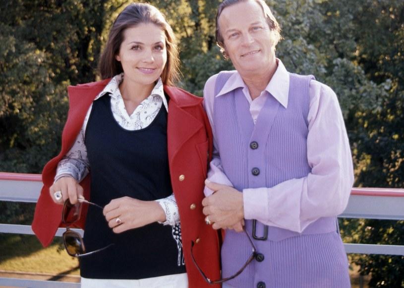 Barbara Dunin i Zbigniew Kurtycz /Jerzy Plonski /Agencja FORUM
