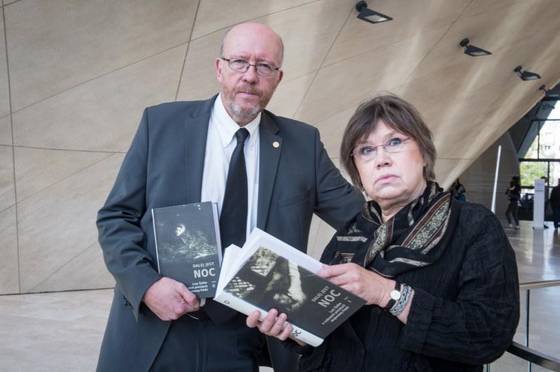 Barbara Engelking i Jan Grabowski /Jacek Dominski/ /Reporter