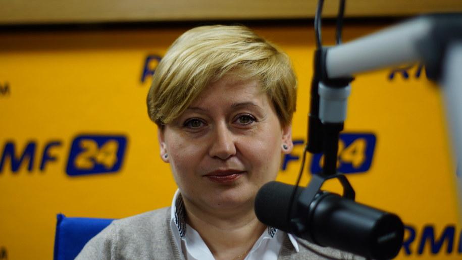 Barbara Giza - filmoznawca /Michał Dukaczewski /RMF FM
