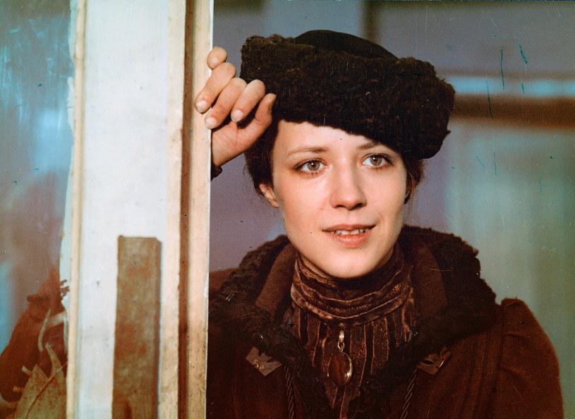 """Barbara Grabowska w filmie Agnieszki Holland, """"Gorączka"""" (1980) /archiwum /Agencja FORUM"""