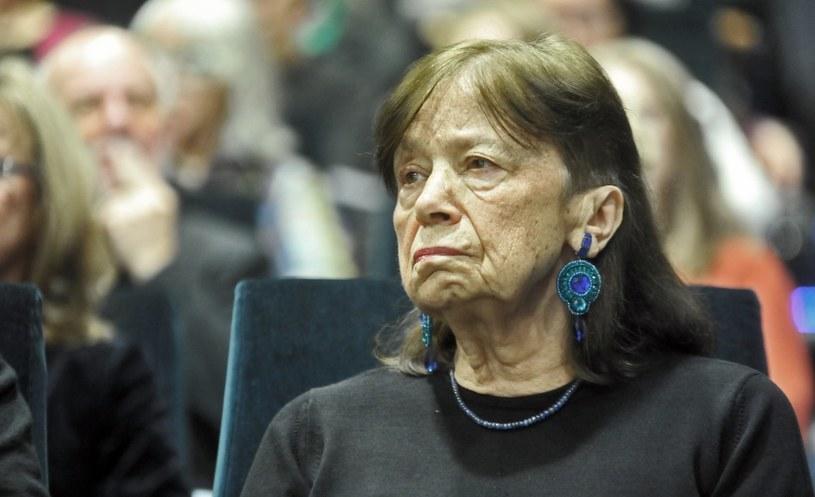Barbara Hoff w Krakowie, w 2015 roku /East News