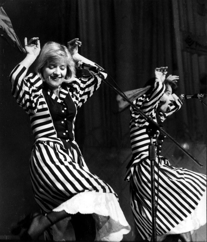 Barbara i Maria Winiarskie były jak bliźniaczki - nierozłączne w życiu i na scenie  /East News